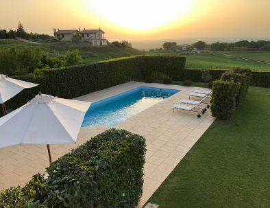 Piscswimming pool of Villa Linnazello